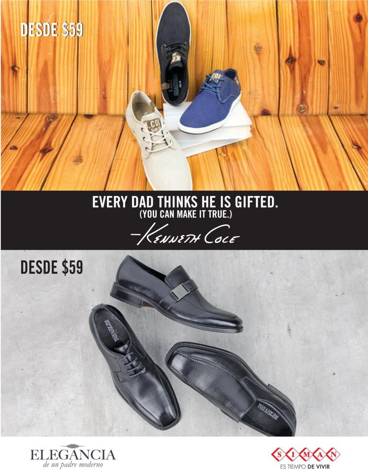 shoes Kenneth Cole MEN Every DAD thinks he is GIFTED