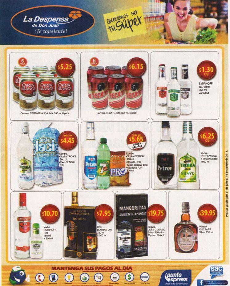 Cervezas y un buen trago con estos productos de la despensa - 31jul15