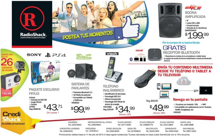 Chromecast disponible en Radio Shack contenido multimedia a tu TV