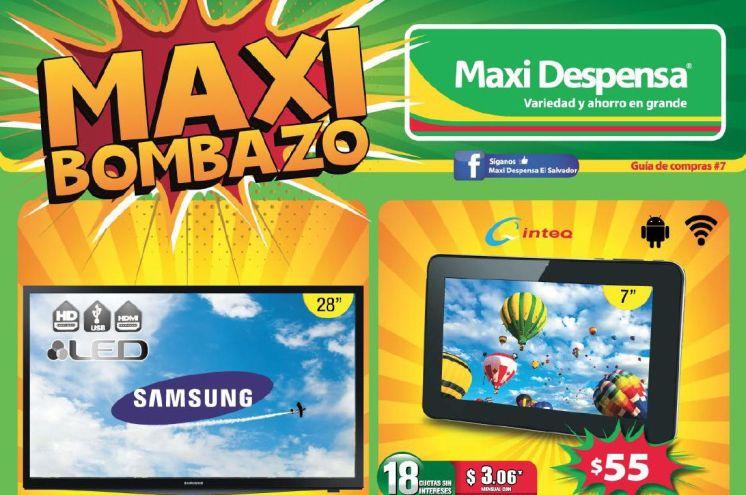Electrodomesticos en oferta Maxi bombazo GUIA de compras no7 - julio 2015