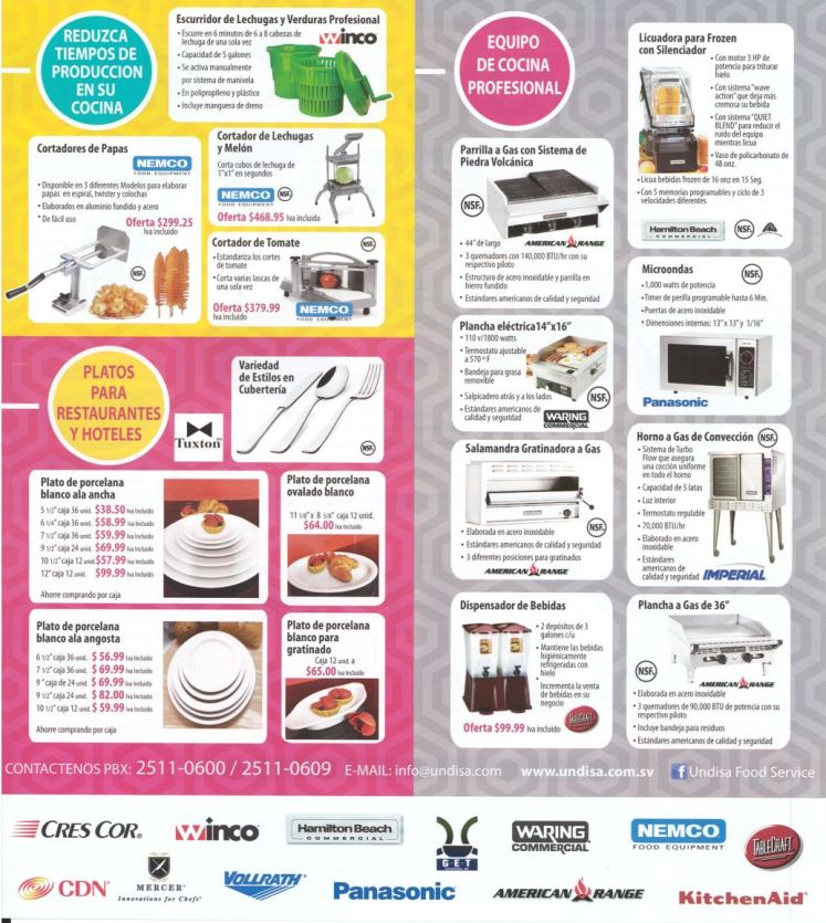 Prefessional kitchen AID supply american standars