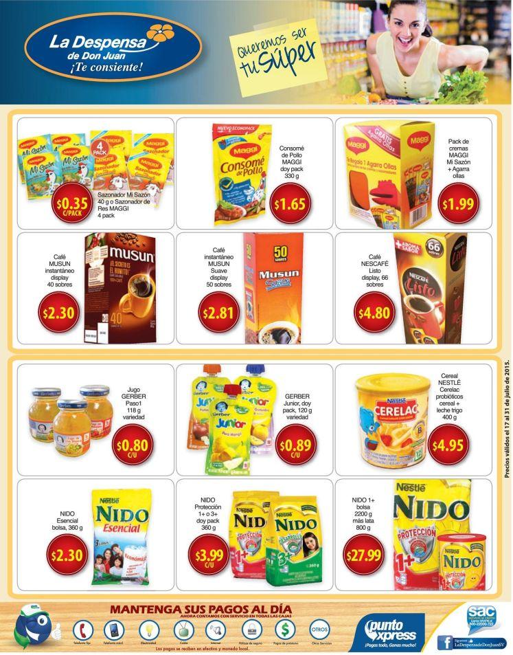 leche cafe productos para tus hijos la despensa de don juan - 17jul15