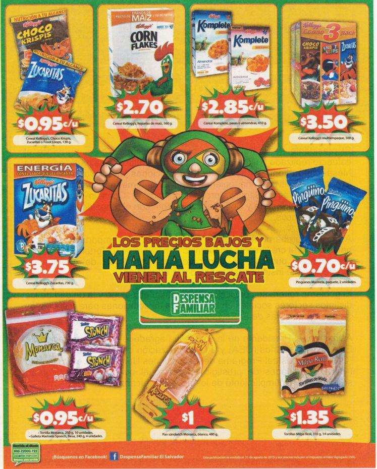 Cereales gallestas y granos descuentos despensa familiar - 31ago15