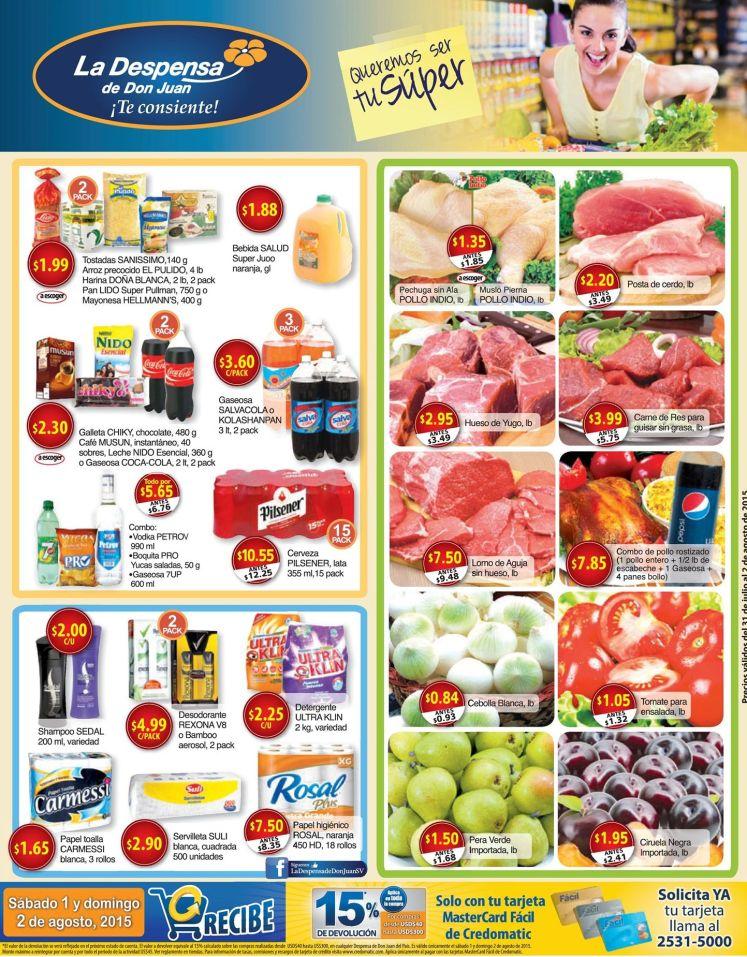 Entras a las ofertas de la despensa en productos de vacaciones - 04ago15