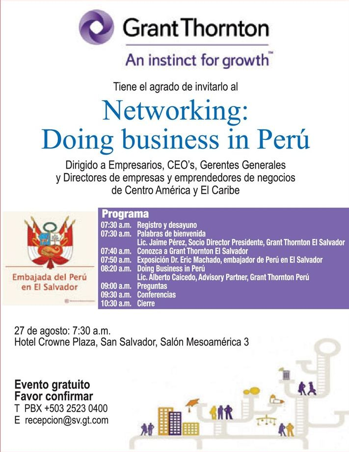 Grant Thornton NETWORKING doing business in PERU