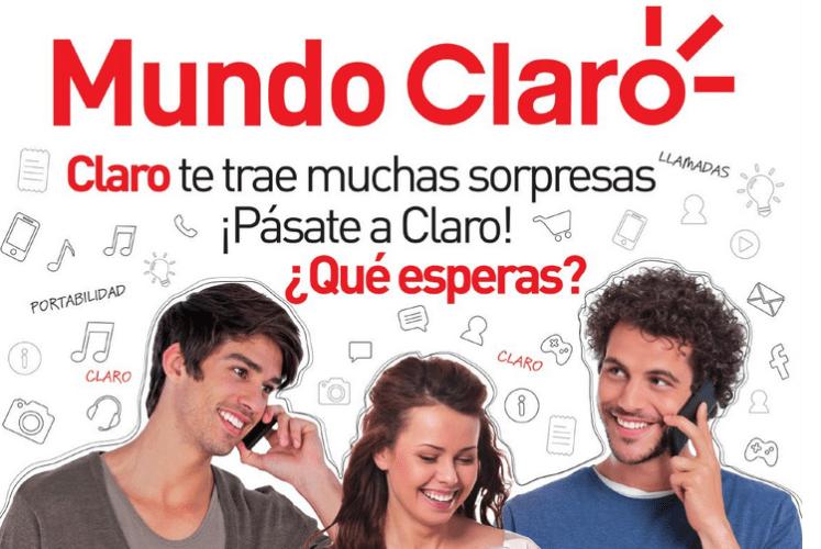 Promociones Mundo CLARO portabilidad numerica el salvador