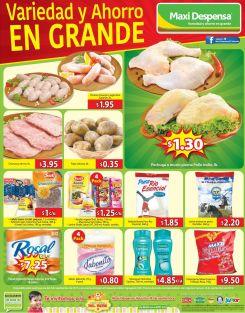 Aqui si variedad y ahorro OFERTAS maxi despensa - 11sep15