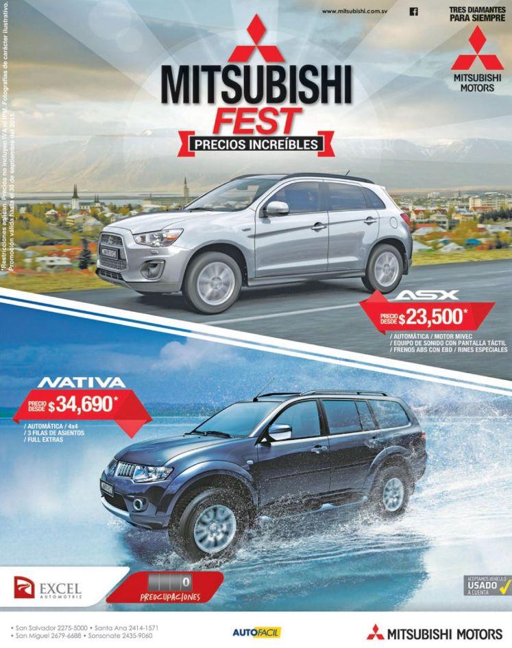 MITSUBISHI fest auto increibles con precios increibles