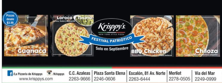 PIZZA Krisppyes festival patriotico - 11sep15