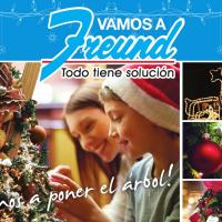 FREUND presenta el Primer catalogo de Navidad 2015