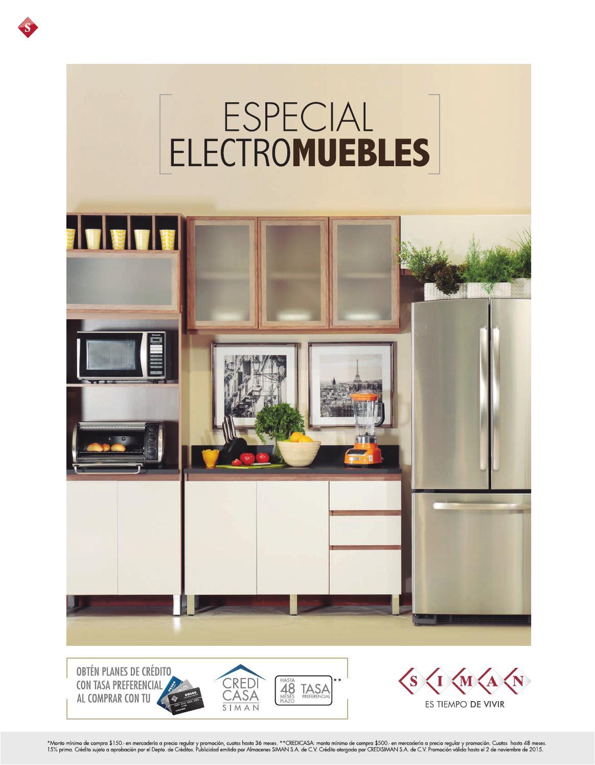 Planes de credito catalogo electro muebles siman el for Muebles salvador