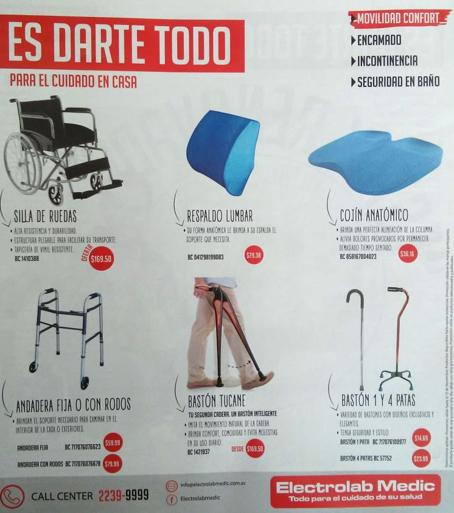 medical and helath SUPPLIES silla de ruedas bastones andaderas
