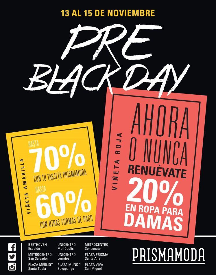 PRE black day con descuentos grandes en prisma moda - 13nov15