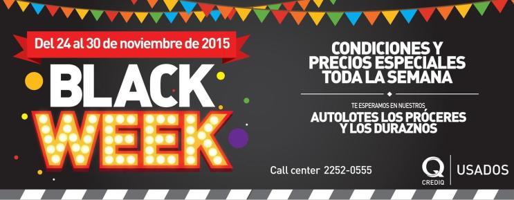 Precios BLACK week promotions en carro usados el salvador