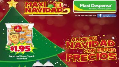 Max Despensa el salvador Guia de ofertas Diciembre 2015
