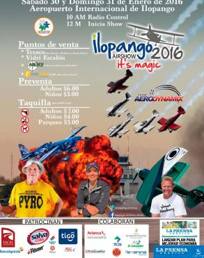 Entradas para el evento ILOPANGO air show 2016