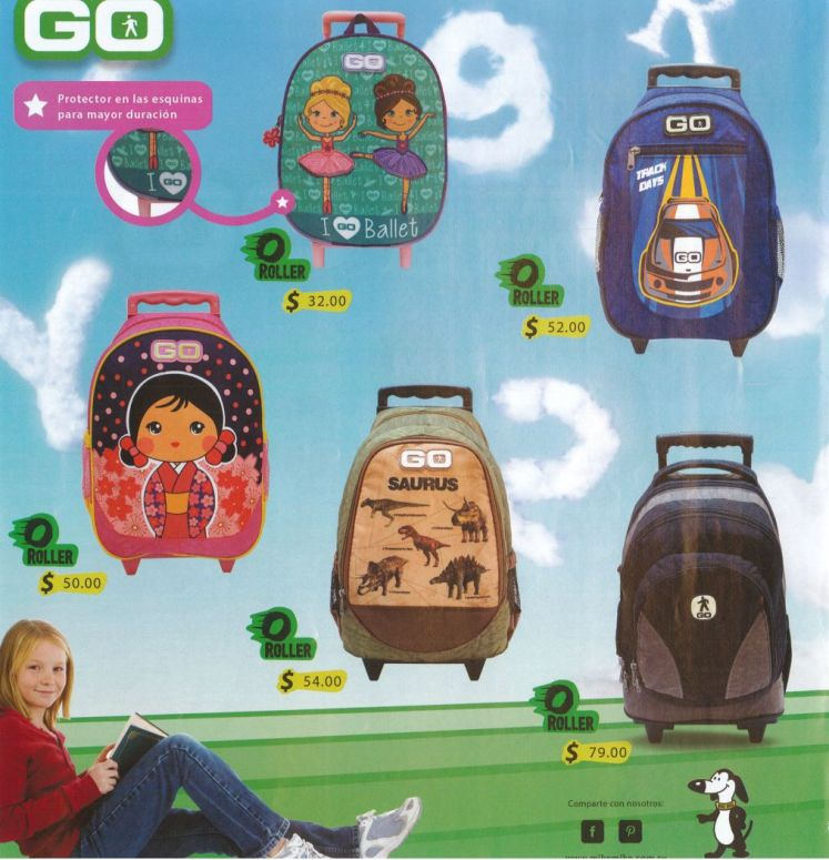 GO Roller backpack for her and him
