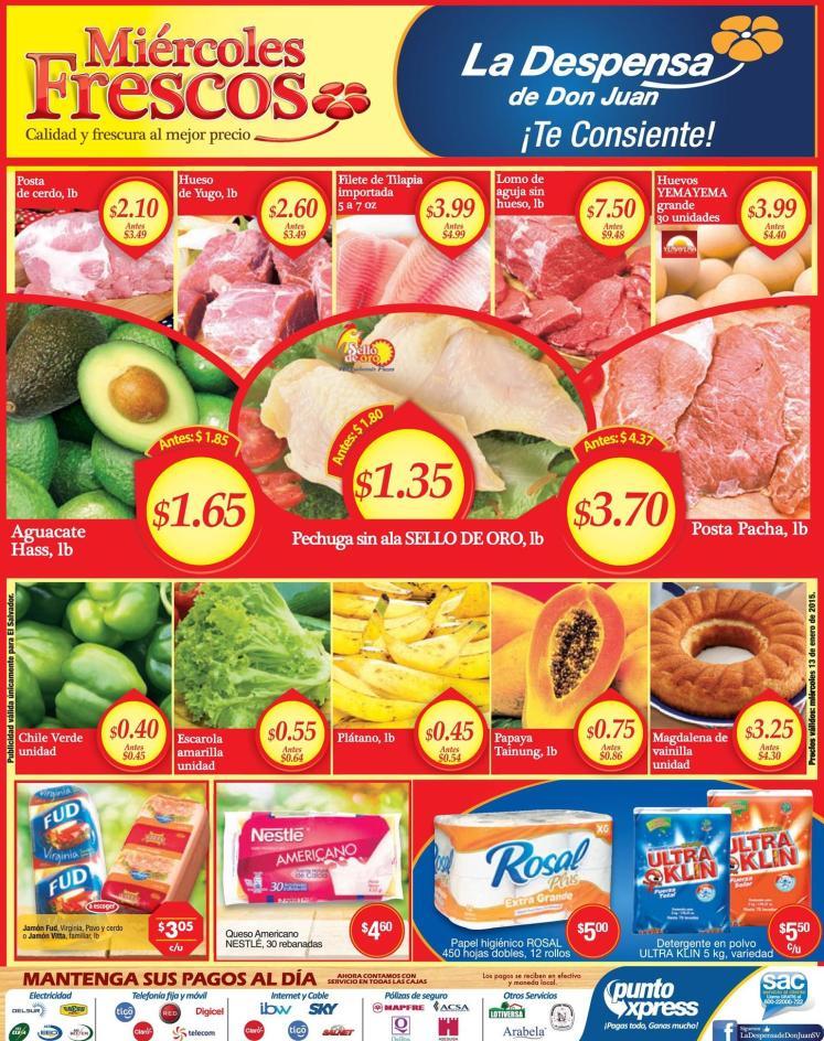 LA DESPENSA Manten tu refri llena de productos y alimentos frescos - 13ene15