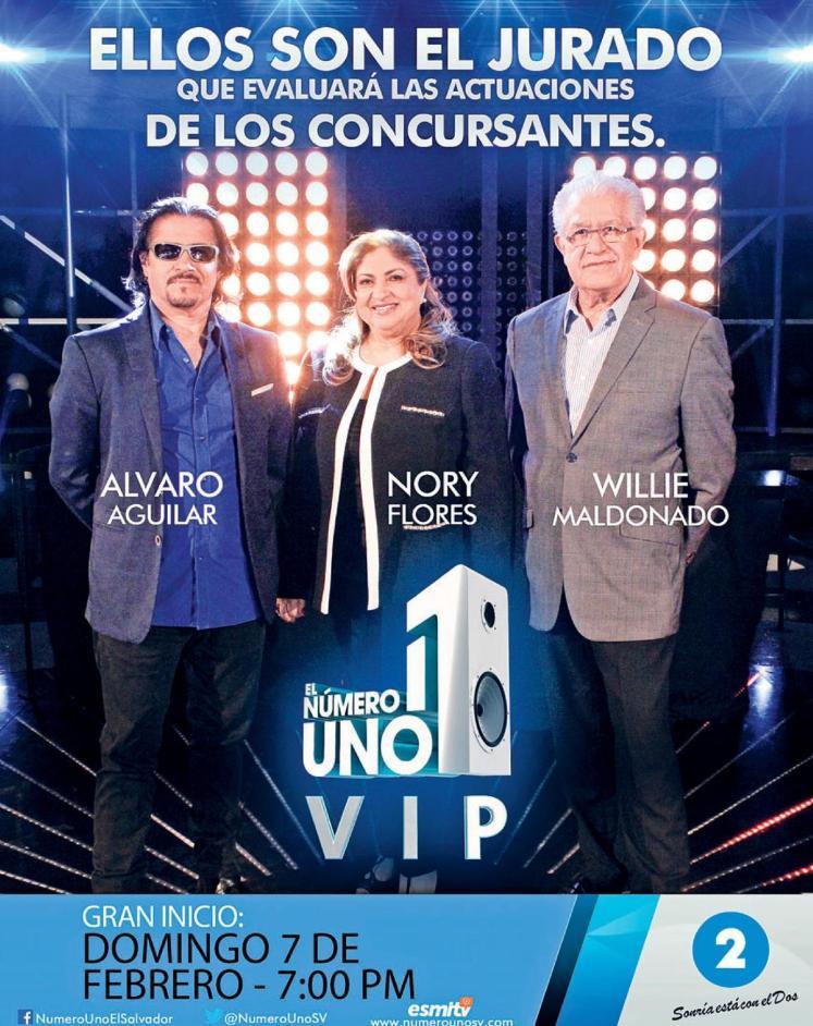 JURADO evaluador numero uno VIP el salvador 2016