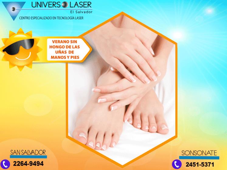 Promociones en tratamiento para los hogos de los pies y manos