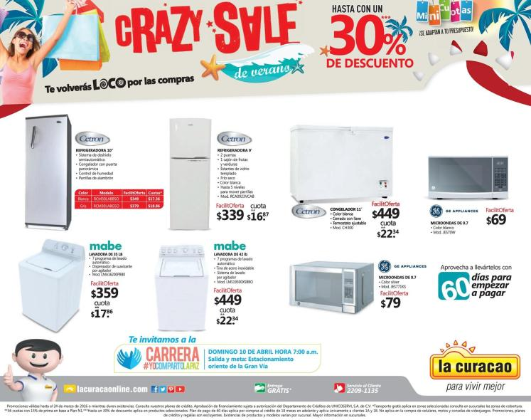 LA CURACAO promociones CRAZY SALE verano 2016