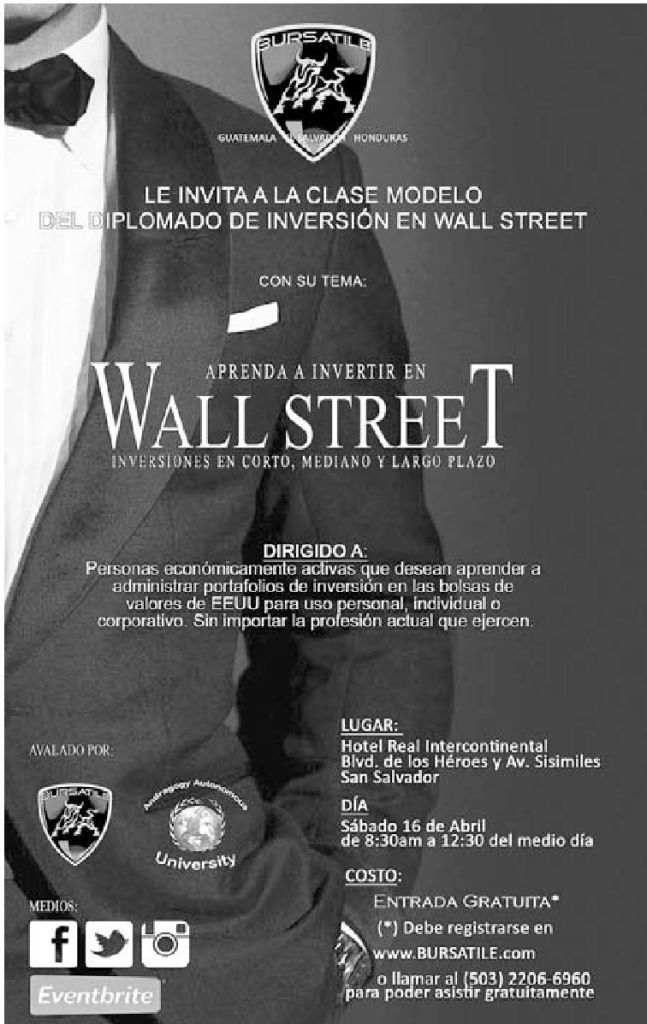 Aprenda a invertir en WALL STREET forex course by BURSATILE