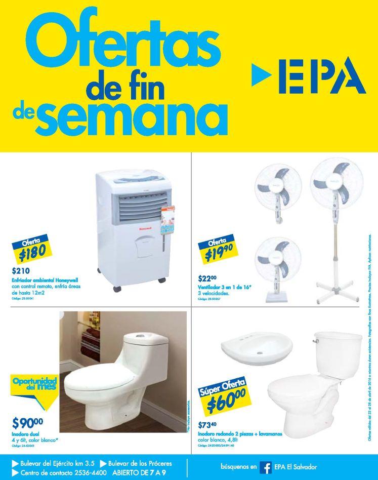 Ferreteria EPA Enfriador ambiental HONEYWELL y ventiladores - 22abr16