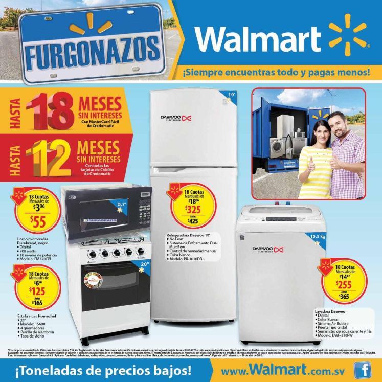 Ofertas Walmart Abril 2016 Catalogo de FURGONAZOS