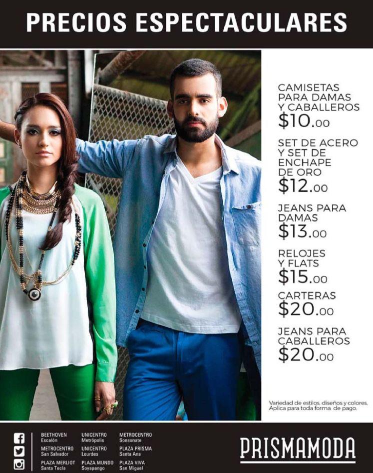 Precios espectaculares en ropa de moda y fashion