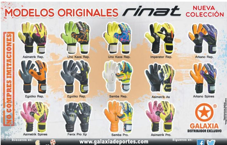 RINAT globes original products goal kepper players