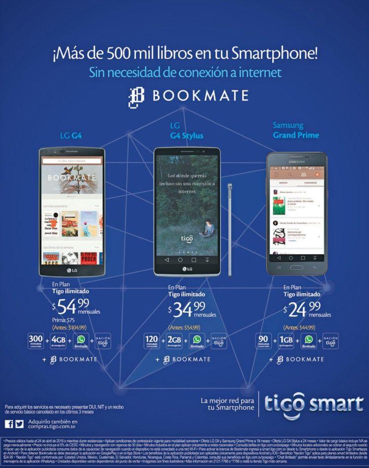 eReader Bookmate mas de 500 mil libros en tu smartphone
