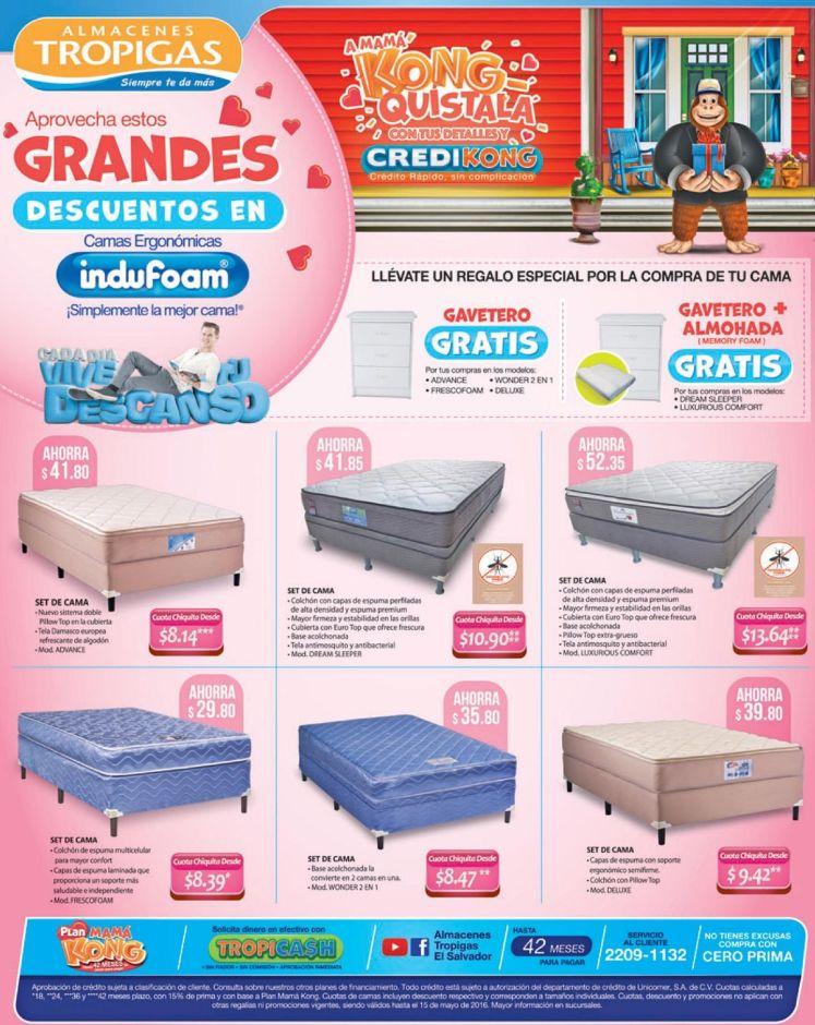 6 grandes descuentos para comprar cama nueva en tropigas