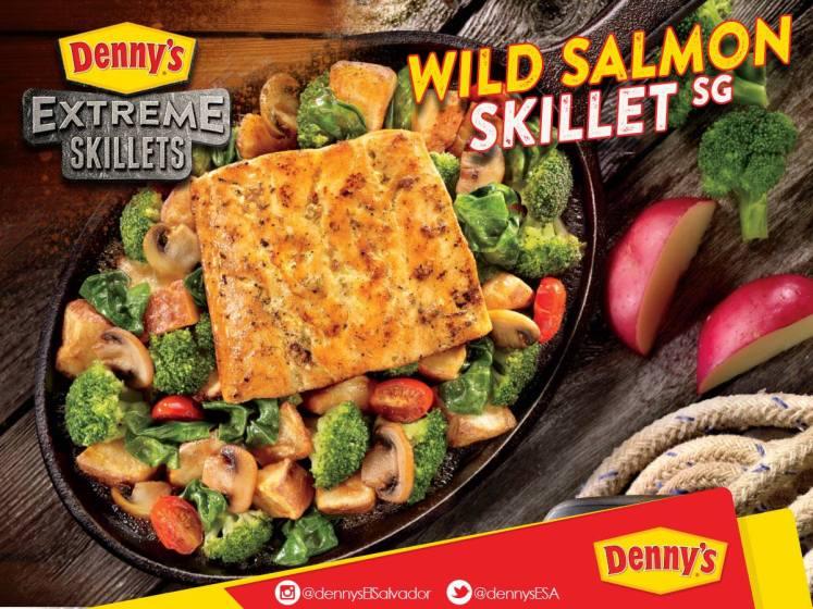DENNYS extreme skillets NUEVO menu extremadamente delicioso