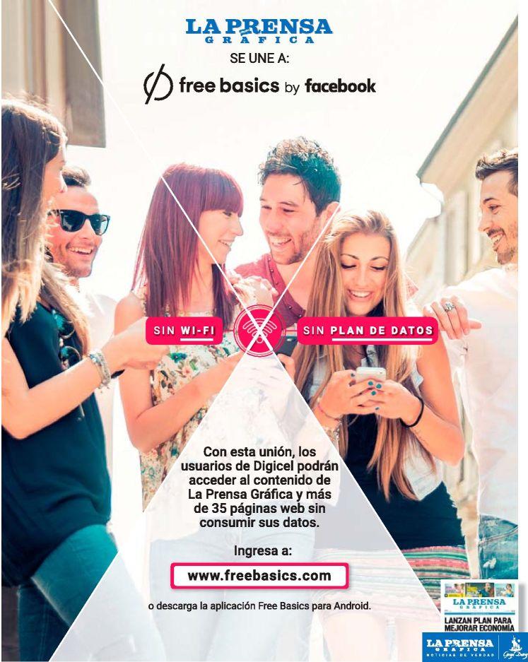 Free basic app el salvador La Prensa grafica news