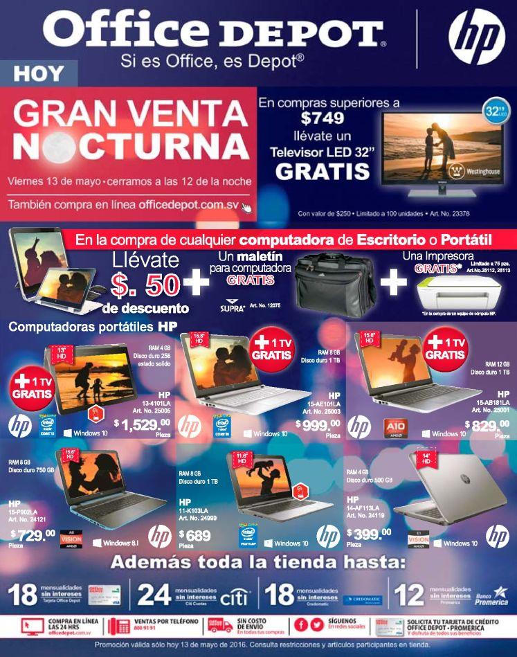LAPTOP nuevo a buen precio OFFICEDEPOT venta noctura - 13may16