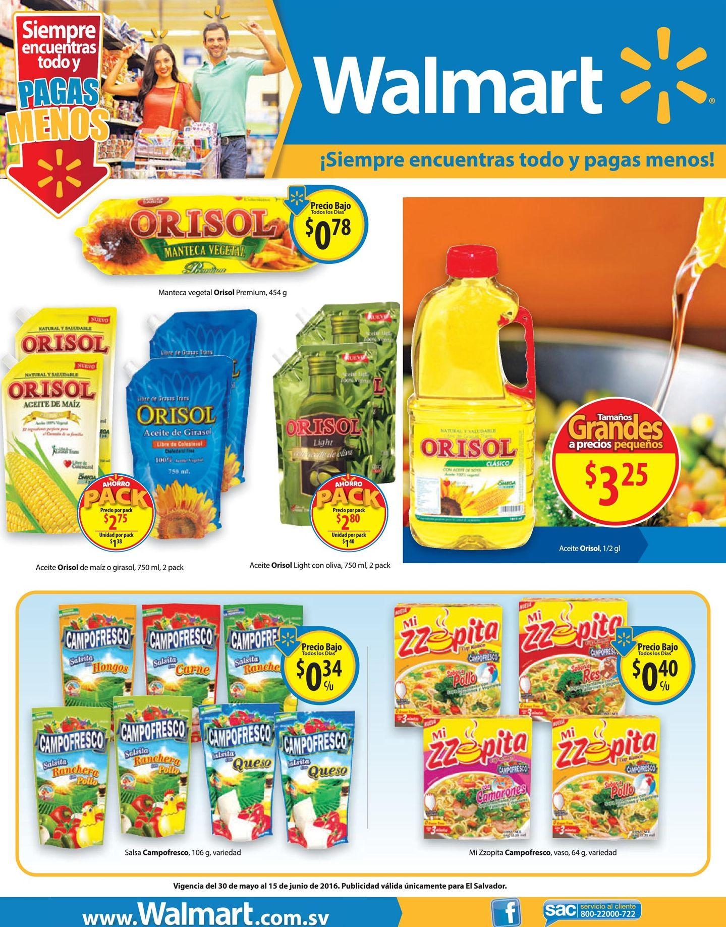 Las cocineras entienden estos precios bajos del WALMART