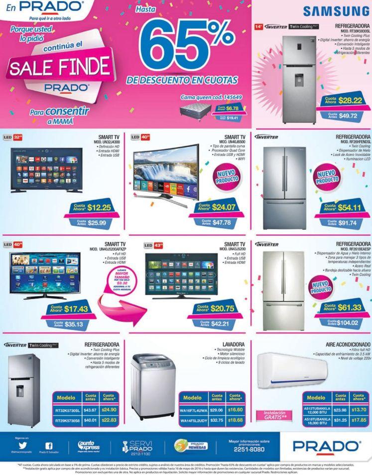 SALE finde compra tu nuevo LED smart tv en PRADO