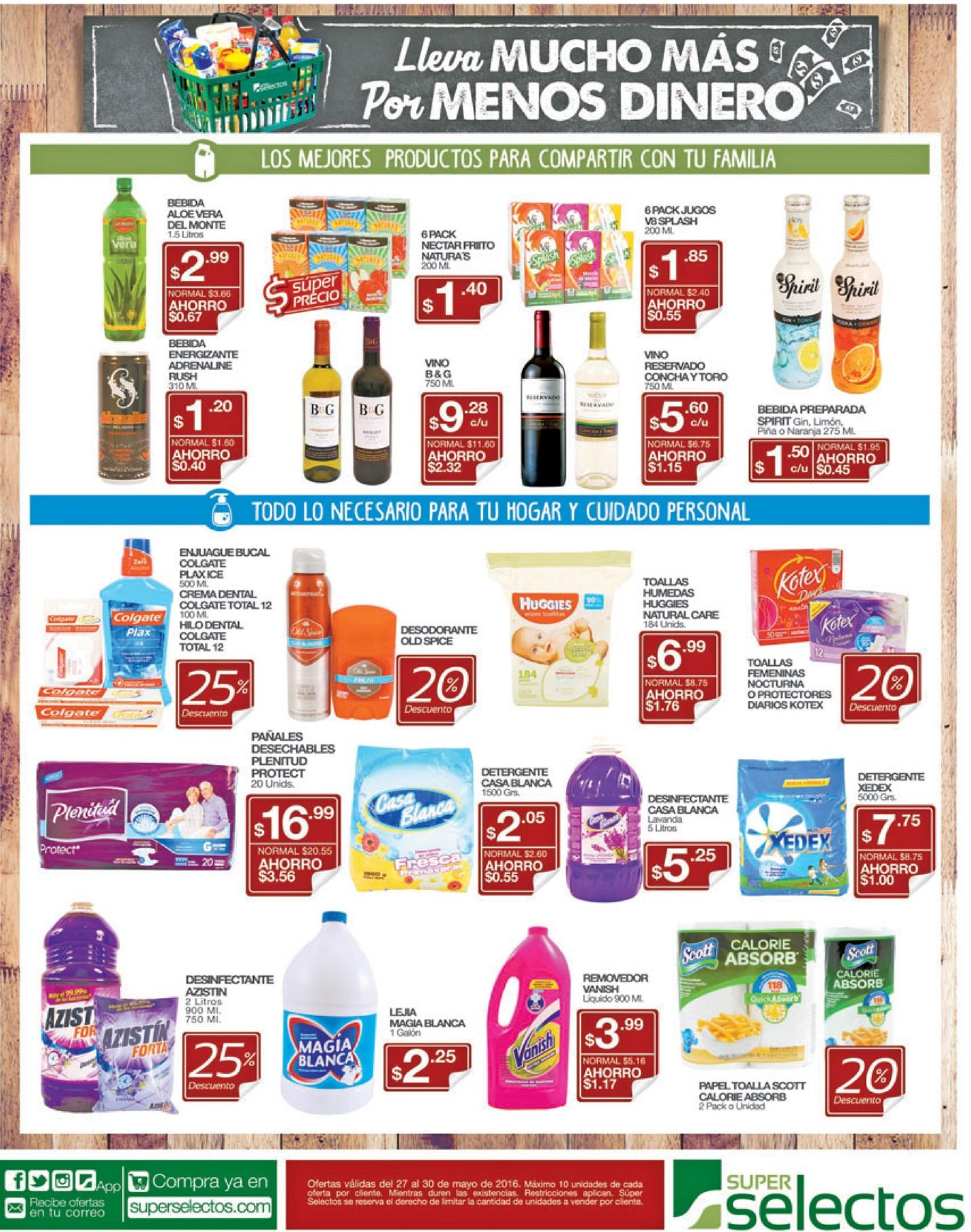 Super descuentos en supermercados - 27may16