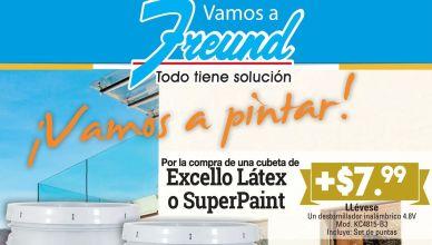 Vamos a pintar con FREUND promociones mayo 2016