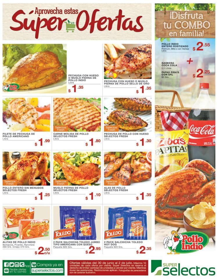 Combitos de pollo para tus comidas de la semana