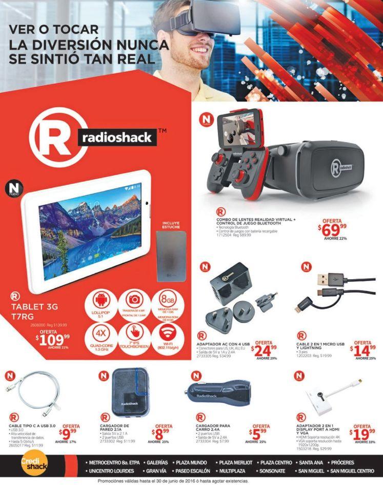 RadioSHack Nueva tecnologia de realidad virtual y aumentada