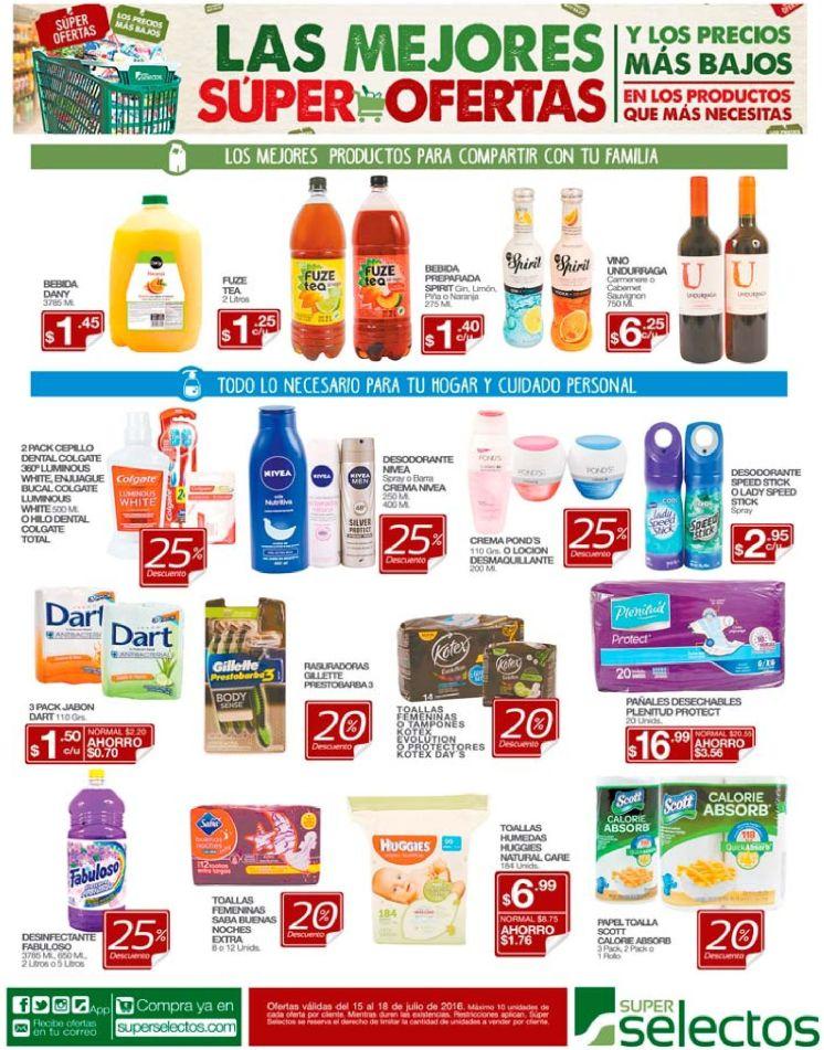 Descuento de ahora viernes en supermercado selectos - 15jul16