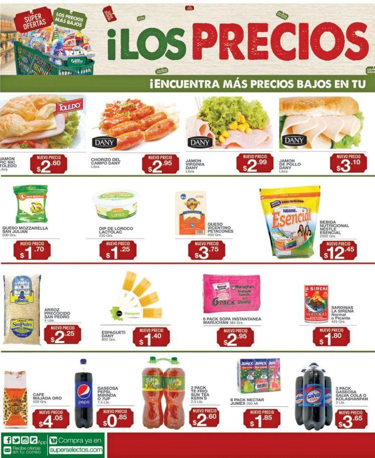LOs precios mas bajos en super selectos - 22jul16