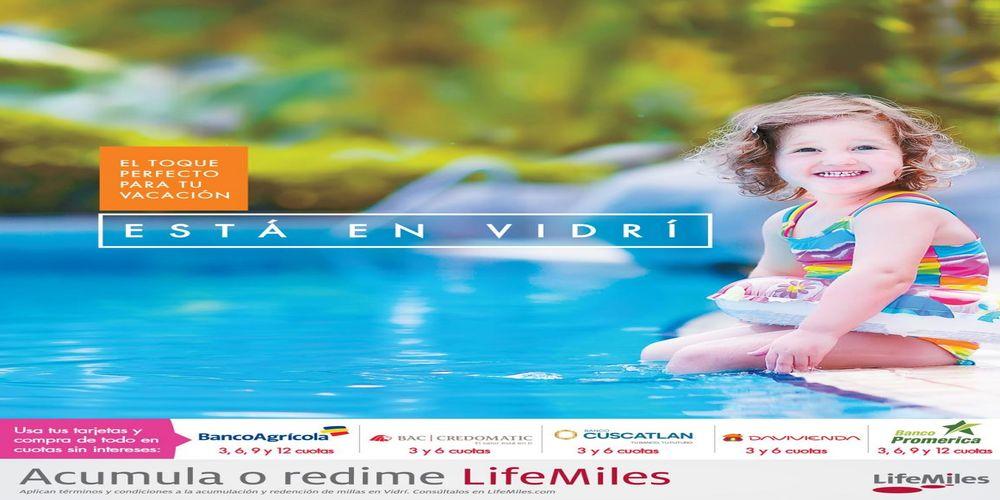Dale el toque perfecto a tus vacaciones de agosto 2016 con VIDRI