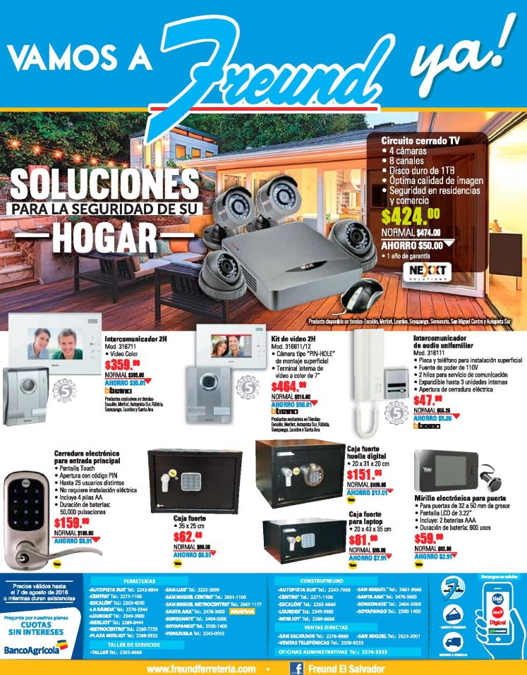 Security camera system for home and office