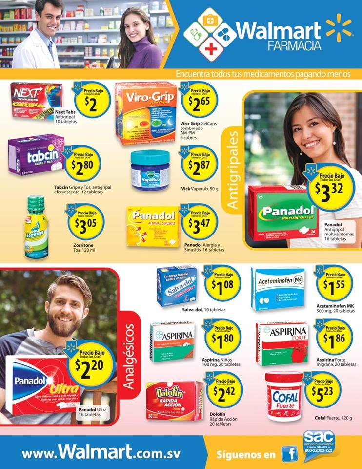 ofertas WALMART farmacia el slavador - julio16