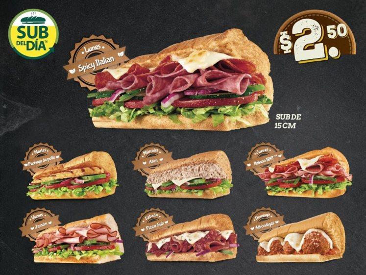 sub-del-dia-restaurantes-subway-elsalvador