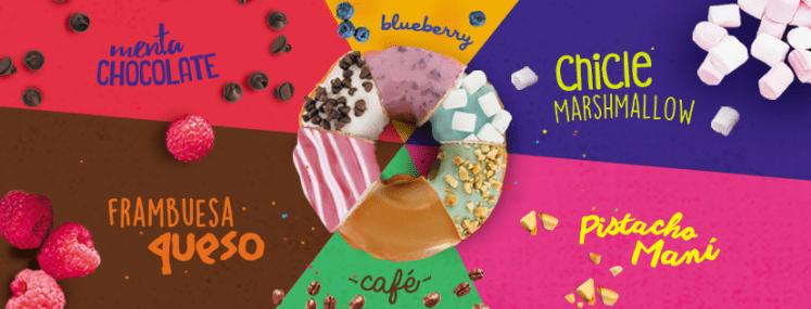 nueva especialidades de donas al 2x1 mister donut el salvador septiembre