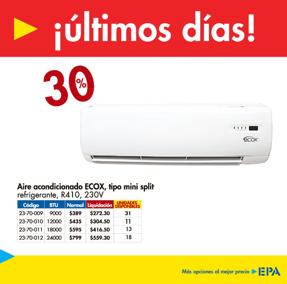 aire-acondicionado-ecox-tipo-mini-split