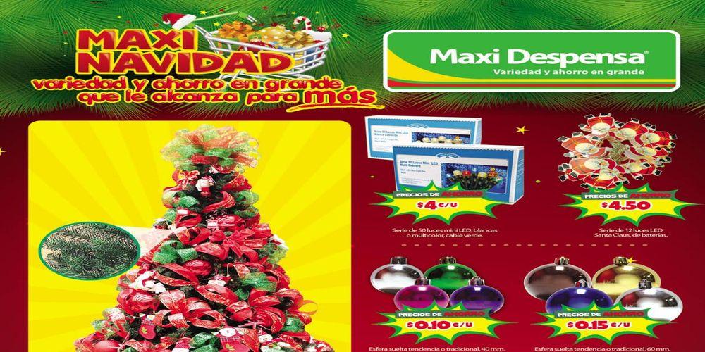 Nuevo catalogo MAXI NAVIDAD 2016 productos y adornos